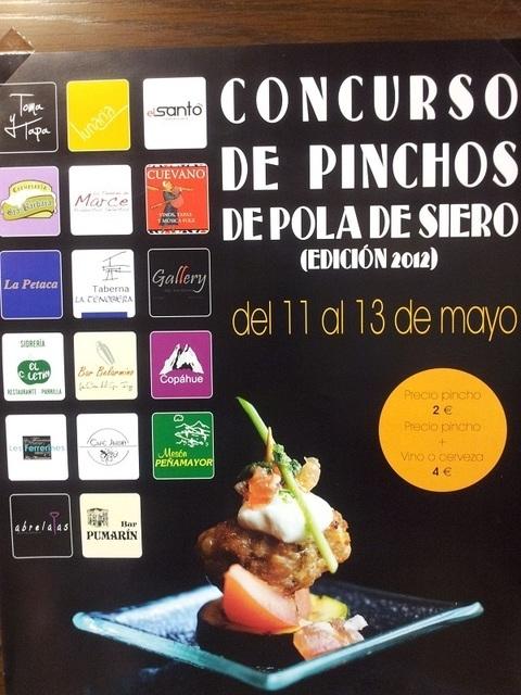 Carnicos Marce -  CONCURSO DE PINCHOS DEL 11 AL 13 DE MAYO EN POLA DE SIERO - Carnicos Marce